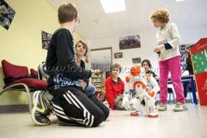 Nao et les enfants autistes